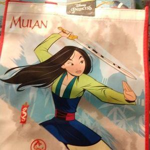 Disney Princesses Mulan reusable tote bag